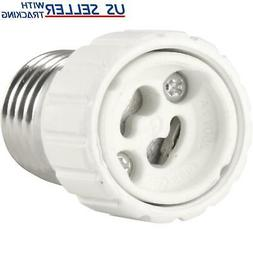 Light Bulb Socket Adapter Standard US E26 Medium Base to GU