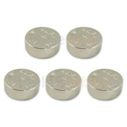 5 PACK NEW Battery Coin Cell Button 1.5V 303 357 A76 AG13 LR
