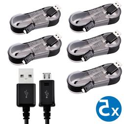 5-Pack OEM Samsung Micro USB Cable Fast Charging Cord For Sa