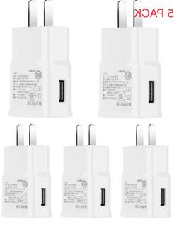 5 Pack Power Adapter Home WALL Charger Plug For  Samsung  Un