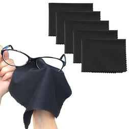 5-Pack Premium MicroFiber Cleaning Cloth For Phones EyeGlass