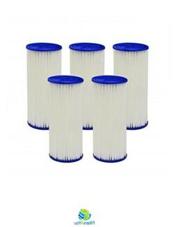 5 Pack R30-BB RS6 Compatible Whole House Sediment Pleated Wa