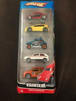 Hot Wheels 5 Pack Set ~ VOLKSWAGEN ~ 1/64 Scale Die Cast ~ N