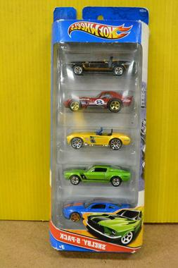 Hot Wheels 5 Pack Shelby Vehicles Mattel 2010