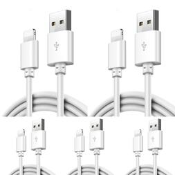 5-PACK USB Data Charging Charger Cables Cords For Apple iPho