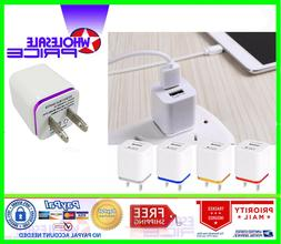 5-Pack USB Quick Charger Wall Charger Power Adapter For iPho