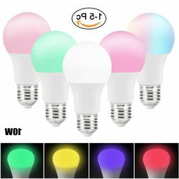WiFi Smart Light Bulb Bulbs Dimmable LED E27 For Google Home