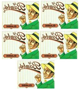 5 Packs Big Bambu Rolling Paper  100% Authentic *Best Price*