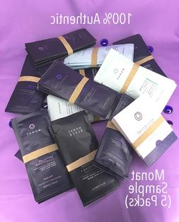 PACKS of Monat Shampoo, Conditioner, & Treatment SAMPLES ~Y