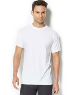 $55 HANES MEN WHITE X-TEMP CREW-NECK TOP TEE UNDERSHIRT T-SH