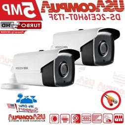 Hikvision 5MP Camera DS-2CE16H0T-IT3F IR 2D DNR DWDR Bullet