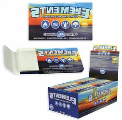 5x Packs Element 300    Rolling Paper 1.25