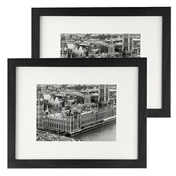 8.5x11 Picture Frame 2 Pack, UnityStar Document Frame Sized