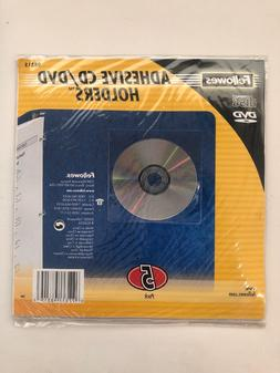 98315 5 pack adhesive cd dvd holders