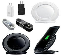 Fast Wireless Charger Pad + plug cable For Samsung Galaxy No
