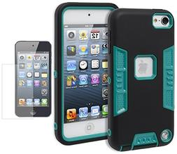 For Apple iPod Touch 5 & 6, Bastex Heavy Duty Robotic Design