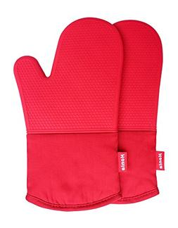 Honla Silicone Oven Mitts - Heat Resistant to 500° F,1 Pair