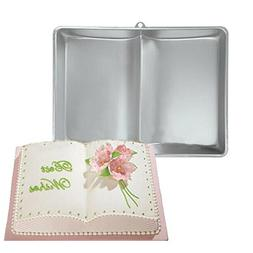Plum Garden 3D Book Shape Fondant Cake Tin Baking Mold Decor