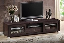 Baxton Studio Wholesale Interiors Beasley TV Cabinet with 2