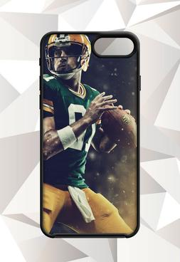 AARON RODGERS GREEN BAY PACKERS IPHONE 5 6 7 8 X PLUS  CASE