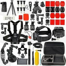 Accessories Pack Case Strap Mount Kit for Gopro HERO 5 3+ 4