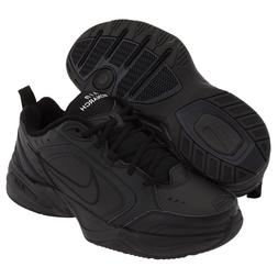 Nike AIR MONARCH IV Mens Black 001 Comfort Lace Up Running T