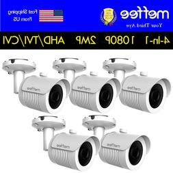 Analog CCTV Bullet Security Camera  4in1 1080P  2MP Outdoor
