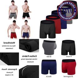 Aserlin Men'S Underwear 5 Pack Short Legs Underwear Boxer Br