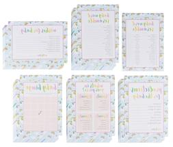 Baby Shower Game Card Packs - 5-Set Assorted Party Activity
