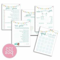 Baby Shower Games | Pack of 5 Different Games & Activities 2