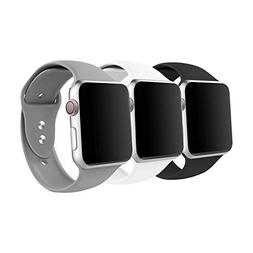 IYOU Sport Band Compatible with Watch Band 38MM 42MM, Soft S