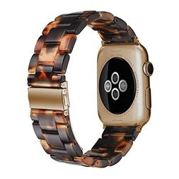 Omter Band Replacement for Apple Watch 40mm 38mm Women Men F