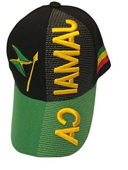 Baseball Caps Hats with Five 3D Embroideries – Countries o