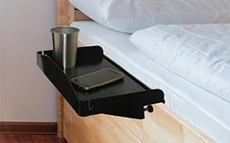 Attachable Bedside Tray To Use as Kids Nightstand, Bunk Bed