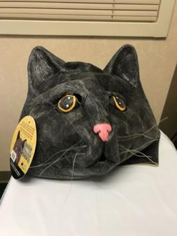 Black Jack Cat Mask  ~ Soft Latex Rubber Theatre Costume Pro