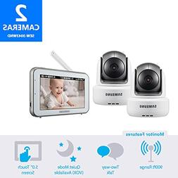 Samsung BrightVIEW Baby Video Monitoring System with 1 Addit