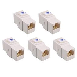 Cable Matters  Cat6 RJ45 Keystone Jack in-Line Coupler in W