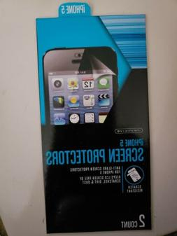 Cell phone screen protectors, for iPhone 5, anti-glare scree