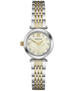 Bulova Women's Diamond Accent Two-Tone Stainless Steel Brace
