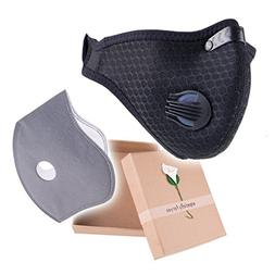 PonKing Dust Mask Breathing Anti Pollution Allergy Activated