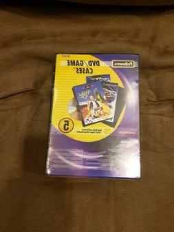 dvd game cases 3 5 pack