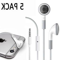 Fosmon  3.5mm Earphone Headphones with Microphone for Apple
