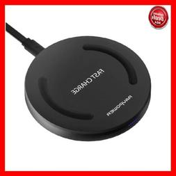 Wireless Charger RAVPower Qi-Certified 10W Fast Wireless Cha