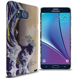 Galaxy Note 5 Hard Case, CoverON Slim Non-Slip Art Design Co