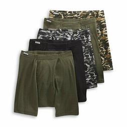 Hanes Men's Boxer Briefs 5-Pack Camo Comfort Soft Sizes S, M