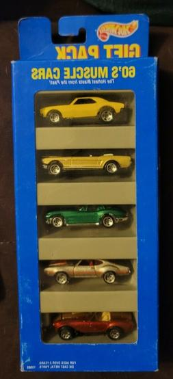 Hot Wheels 60's Muscle 5 Car Gift Pack