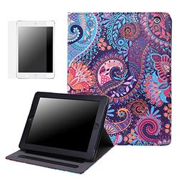 HDE Case for iPad 2 3 4 Leather Case with Screen Protector -