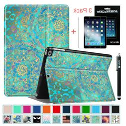 For iPad 9.7 Inch 6th Gen 2018/ 5th Gen 2017 Case Cover+3 Pa