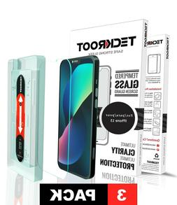 iPhone 11, 11 Pro, 11 Pro Max TeckRoot Tempered Glass Screen