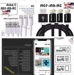 iPhone Charger Cable USB  Heavy Duty ES 5 6 7 8 Plus X For A